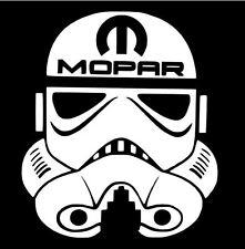MOPAR Decal  STAR WARS STORMTROOPER Car Truck Window Vinyl Sticker