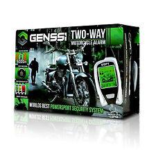 2-Way Motorcycle Alarm with Proximity Sensor Remote Start Super Long Monitoring