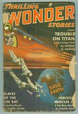 Thrilling Wonder Stories February 1941 G- Bergey cover