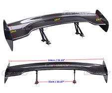 "UNIVERSAL Carbon Fiber Rear Spoiler Wing JDM 57"" 3D 3DI GT for BMW 520i F30"
