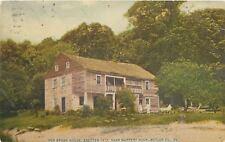 Slippery Rock Pennsylvania~Old Stone House (Short Porch) 1911 Postcard