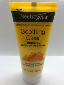 Neutrogena Soothing Clear Gel Facial Moisturizer with Calming Turmeric