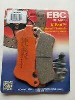 EBC FA640V Semi-Sintered V Brake Pads 1 Pair for FRONT SPORSTER XL883 1200 14-20