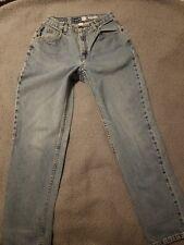 Vintage Liz Claiborne High Waisted Mom Jeans Size 8 Straight Leg 90's Mexico Euc
