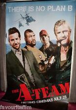 Cinema Banner: A-TEAM, THE 2010 Liam Neeson Bradley Cooper Sharlto Copley