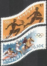 France 2004 Olympic Games/Sports/Olympics/Horse/Tennis/Canoe 2v set (n42517)