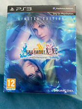 Final Fantasy X / X-2 HD Remaster Limited Edition PS3 Playstation 3