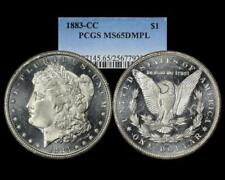 1883 CC MORGAN $1 PCGS MS 65 DMPL DOUBLE MIRROR PROOF LIKE