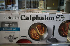 Select by Calphalon 10pc Stainless Steel Cookware Set 10pc