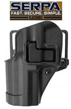 Blackhawk for GLOCK 17/22/31 Serpa CQC Holster LH 410500BK OWB Belt Paddle LEFT