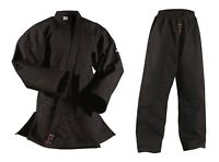 DANRHO Ju Jutsu Anzug Shogun Plus schwarz, Größen 150 - 200cm. Judo, BJJ, SV