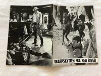 The Last Challenge Glenn Ford Angie Dickinson Vintage 1967 Danish Movie Program