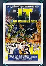 IT CAME FROM BENEATH THE SEA * CineMasterpieces SEA MONSTER HORROR MOVIE POSTER