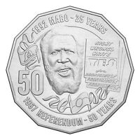 2017 50 Years 1967 Referendum & 25th Anniv Mabo Decision 50c Cents UNC Coin RAM