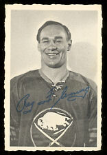 1970 71 OPC O PEE CHEE DECKLE EDGE #12 REG FLEMING EX BUFFALO SABRES HOCKEY card