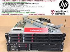 HP DL380 G7 2x X5670 12-Core 128GB HP D2600 36TB 6G SAS Storage Configuration