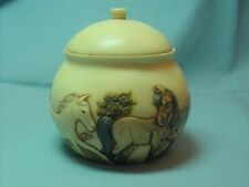 Harmony Kingdom Jardinia Trinket Box - Horses - Meadow Dance 2003