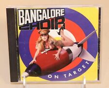 1992 Bangalore Choir On Target CD Giant Records AOR Hair Metal 075992443326