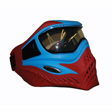 V-Force Grill Special Color Thermal paintball mask - Blue on Red  - NEW