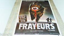 lucio fulci  FRAYEURS la paura  !  affiche cinema epouvante 1979