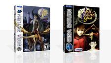 Panzer Dragoon Saga Sega Saturn Replacement Case + Box Art Work Cover No Game