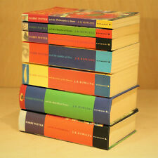 Harry Potter Complete 1-7 Book Set Bundle - JK Rowling - Bloomsbury - VGC