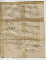 1859 Certificate Of Naturalization, Great Britain To Albion, IL - Alfred Brown