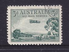 3d Airmail Green Type B Cto Full Gum Hinged