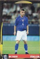 Football sticker DANIELE de ROSSI Italy FIFA WC Germany 2006 School edit Serbia