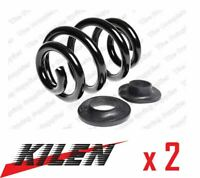 2 x NEW KILEN REAR AXLE COIL SPRING PAIR SET SPRINGS GENUINE OE QUALITY 65033