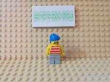LEGO® Figur Minifig Pirate Red/White Stripes #PI041 Set 6257 6278 6292 1970