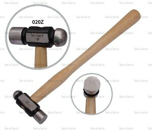QUALITY BALL PEEN HAMMER 2 oz METAL WORK FORMING JEWELLERY MAKING HOBBY & CRAFTS