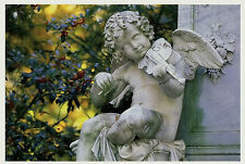 Ansichtskarte Postkarte Motiv musizierender Engel Alter Friedhof Bonn  (Nr. 38)