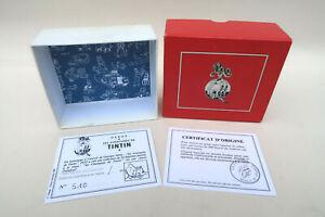 Boite d origine + Certificat Numeroté Pixi 4522 Tintin Cowboy et Milou