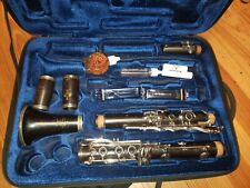 Excellent Buffet Crampon S1A Clarinet in A! Cork Overhaul, ProTec Double Case!