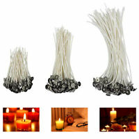 100pcs Candle Pre-Waxed Cotton Core Wicks Pre-Tabbed For Home Candle Making
