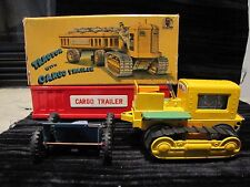 SSS INTERNATIONAL JAPAN TIN FRICTION TRACTOR WITH CARGO  TRAILER S-1133