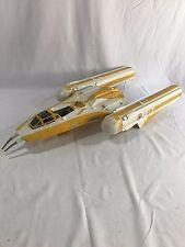 "Star Wars Clone Wars Y WING BOMBER  27"" 2009 Spaceship Vehicle NOT COMPLETE"