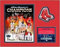 "Boston Red Sox 2013 World Series Champions Photo Collage (Size 11"" x 14"") Matted"