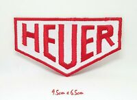 HEUER Motorsport Racing Iron Sew on Embroidered Patch #032