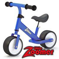 Balance Bike - Wide Wheels - Easy learning - Adjustable height - BLUE