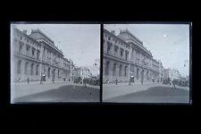 Bordeaux France Photo Amateur Plaque stéréo NÉGATIF vers 1925