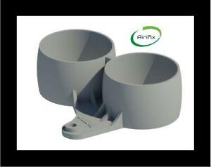 Mini Cooper/S/JCW R50 R52 R53 Dual Gauge Pod Black 60 or 52mm