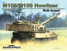 M108 / M109 Self-Propelled Howitzer Walk Around (Squadron Signal 5721)