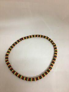 Rasta Reggae Wood Bead Necklace Chain Mens Womens Ladies Girls Boys Jewellery