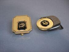 2 BOUCLES De CEINTURE Christian DIOR Vintage Belt Buckle
