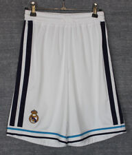 REAL MADRID HOME FOOTBALL SHORTS 12-13 ADIDAS YOUTHS LARGE 13-14 YEARS