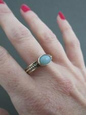 her amazonite gift cabochon halo ring for petite gold in solitaire diamond turquoise jewelry faceted rose media rings