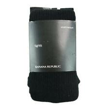 Banana Republic Women's Tights Socks Elastic Size Small/Medium Underwear Black
