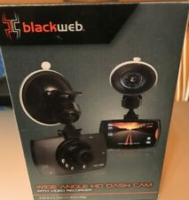 New listing Black Web Wide Angle Hd Dash Cam w/ Video Recorder Bwa19Av905